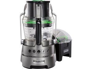 Hamilton Beach 70825 Dicing Food Processor with 14 Cups BPA-Free Bowl, Grey