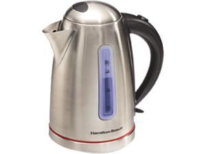 Hamilton Beach 40988 Stainless Steel 1.7 Liter Stainless Steel Electric Kettle