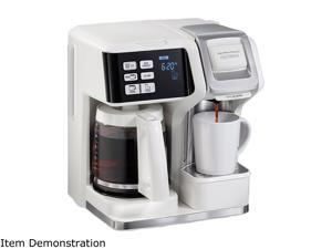Hamilton Beach 49947 FlexBrew Single-Serve Coffee Maker, White