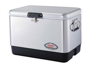 COLEMAN 6155B707 54-Quart Cooler-Stainless