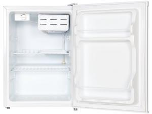 Magic Chef MCBR240W1 2.4 Cu Ft Refrigerator with Manual Defrost, White
