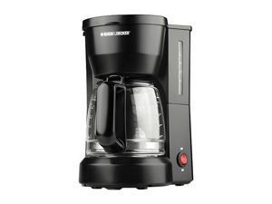 BLACK+DECKER DCM600B 5-Cup Compact Switch Coffeemaker, Black