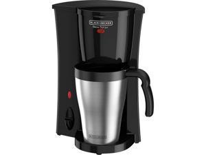 Black & Decker DCM18 Black Brew 'n Go Personal Coffeemaker with Travel Mug