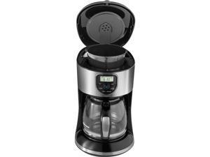 Black & Decker CM4000S Black/Silver 12-Cup Programmable Coffee Maker