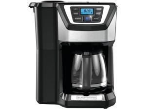 Black & Decker  CM5000B  Black  12-Cup Mill+Brew Coffeemaker