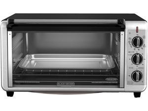 BLACK+DECKER TO3260XSBD 8-Slice Digital Extra-Wide Convection Oven, Stainless Steel