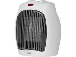 Black and Decker BHDC500W46 BD Ceramic Heater White
