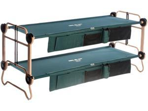 Disc-O-Bed CamOBunk Lrg With 2 Organizers