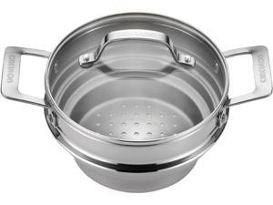 Circulon 70135 Stainless Steel Universal Steamer with Lid