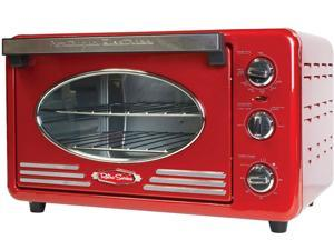 Nostalgia Electrics  RTOV220RETRORED  Retro Series Toaster Oven