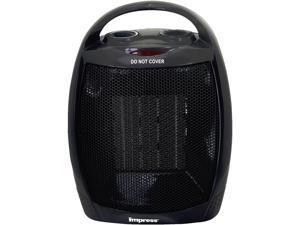 Impress IM-753B Ceramic Heater with Thermostat