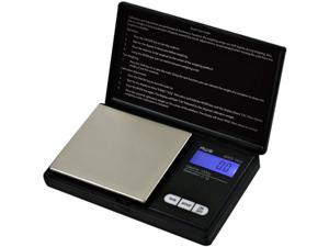 American Weigh Signature Series Black Digital Pocket Scale 1000 by 0.1 G