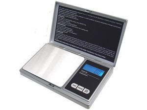 American Weigh Signature Series Digital Pocket Weigh Scales, Silver AWS-1KG-SIL