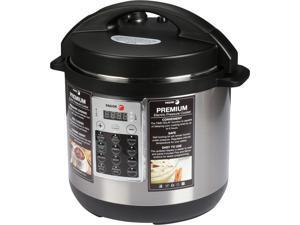 Fagor Premium 6-Quart Electric Pressure Rice Multi Cooker - Silver