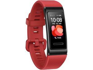 HUAWEI Band 4 Pro, Cinnabar Red, AMOLED, 12 Day Battery Life, 5 ATM, GPS, Heartrate Monitor (Canada Warranty)