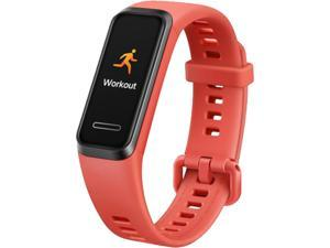 "HUAWEI Band 4, Amber Sunrise, 0.96"" TFT color screen resolution: 160 x 80 dpi, 9 Day Battery Life, 5 ATM, GPS (Canada Warranty)"