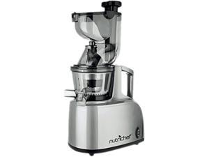 NutriChef PKSJ40 Countertop Masticating Slow Juicer / Juice & Drink Maker