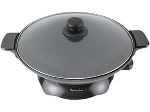 Continental Electric 4.2 Lt. Chef Wok Skillet, Stainless Steel PS-SK309