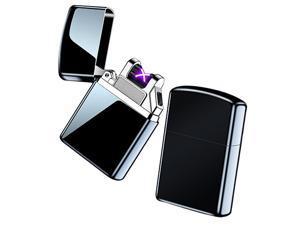 USB Rechargeable Smart Electric Arc Lighter Windproof Flameless Lighter Lightweight Plasma Lighter