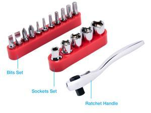 Rosewill RTK-018 17-Piece Mini Ratchet Set