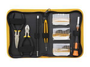Syba SY-ACC65048 35 Piece Multi-purpose Precision Screwdriver Set in a Handsomely Organized Case