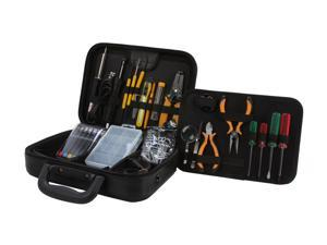 Syba SY-ACC65054 41-Piece Professional Workstation Repair Tool Kit, PU Roomy Zipped Case, RoHS