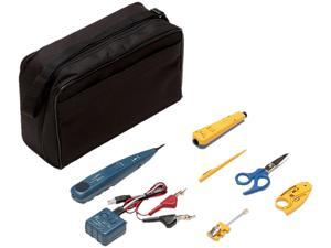 Fluke Networks 11289000 Electrical Contractor Telecom Kit II with Pro3000 Analog Tone and Probe Kit and Case