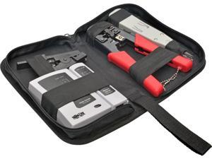 Tripp Lite T016-004-K 4-Piece Network Installer Tool Kit with Carrying Case