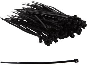 C2G 43036 100pk 4in Cable Ties - Black