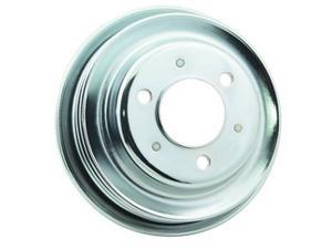 Mr. Gasket Chrome Plated Steel Crankshaft Pulley