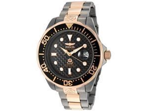Men's Pro Diver Grand Diver Auto Rose 18K Gold Plated & Gunmetal IP SS