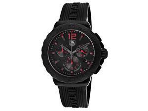 Tag Heuer Formula 1 Mens Black Strap Swiss Chronograph Watch CAU111A.FT6024