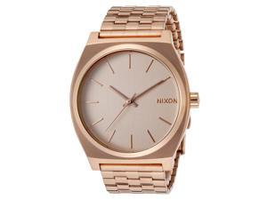 Nixon Time Teller Rose Gold Dial Mens Watch A045-897