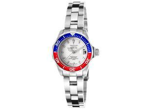 Invicta 17033 Women's Pro Diver Stainless Steel White Dial Watch