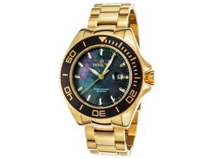 Invicta Men's 48mm Pro Diver Quartz Mother-of-Pearl Stainless Steel Watch