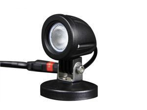 Tuff LED Lights Round LED Spot Work Light - 2 Inch 10 Watt - Black