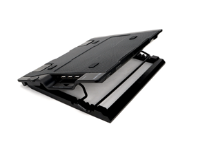 ZALMAN NS2000 Notebook Cooler Supports Up To 17 inch Laptops 4 Stage Angle Adjustment for Tablet and Mobile Devices 200mm Fan 20dBA