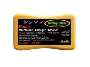 Battery Saver Battery Charger, Maintainer & Cleaner - (48 Volt) 50 Watt 2365-48