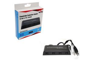 MAYFLASH 4 Ports GameCube Controller Adapter for Wii U & PC USB