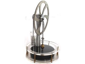 Low Temp Can Run off Sunlight or Hot Water Stirling Engine