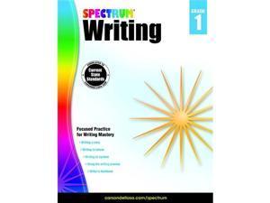 Spectrum 1497345 Spectrum Writing Book, Grade 1 - Paperback