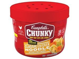 Campbells CAM14880 15.25 oz Chunky Classic Chicken Noodle Soup - Case of 8