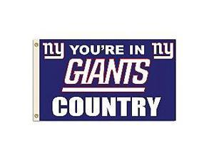 Fremont Die Inc New York Giants Flag With Grommetts Flags
