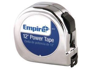 Empire Level 272-612 5-8 Inchx12' Power Tape W-Black Case