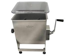 Weston Professional Series Stainless Steel 44Lbs Manual Meat Mixer  36-2001-W