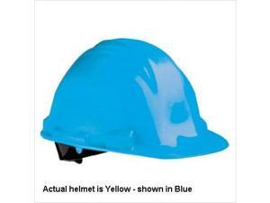 NORTH SAFETY PRODUCTS The Peak A79 Hard Hat HDPE Shell Yellow A79R020000