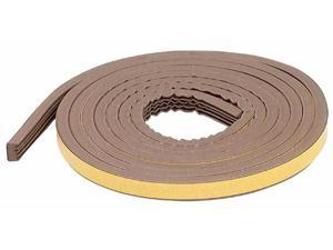 M-d Products 19-32in. X 10ft. Brown Extreme Temperature All Profile Weather Strippin