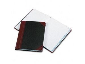 Boorum & Pease Record/Account Book Record Rule Black/Red 300 Pages 9 5/8 x 7 5/8