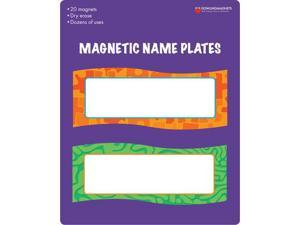 Dowling Magnets DO-735205 Magnetic Name Plates 20 Pcs