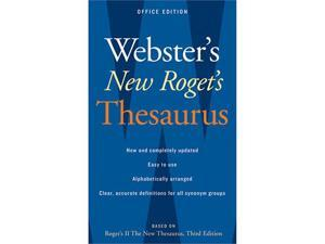 Houghton Mifflin AH-9780618955923 Websters New Rogets Thesaurus